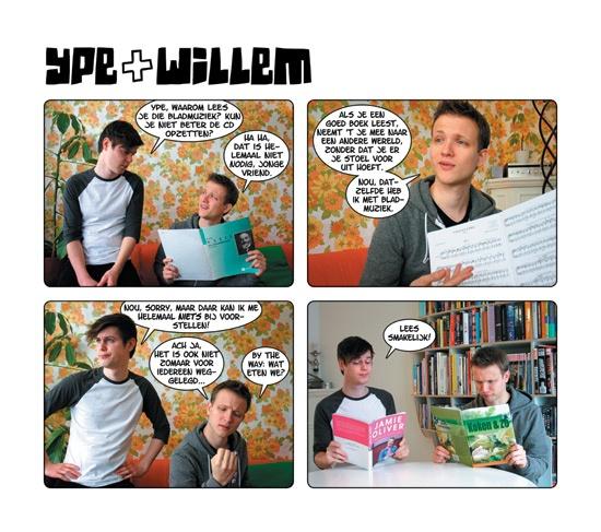 Fotostrip - Ype en Willem