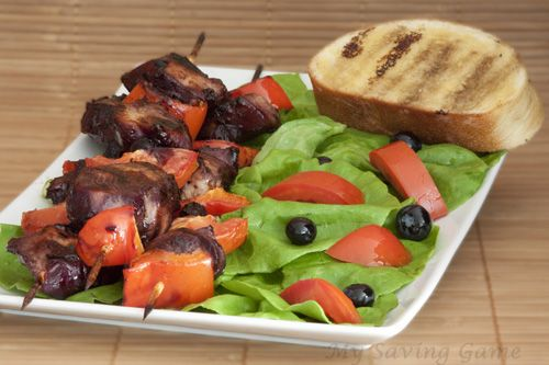 Chicken Kabobs with Blueberry Barbecue Sauce, First Street, Sauces ...