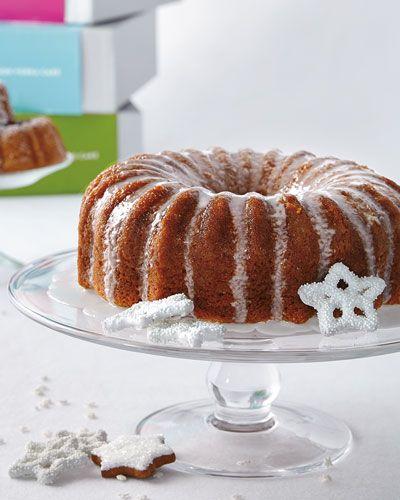 Apple Bourbon Liqueur Cake