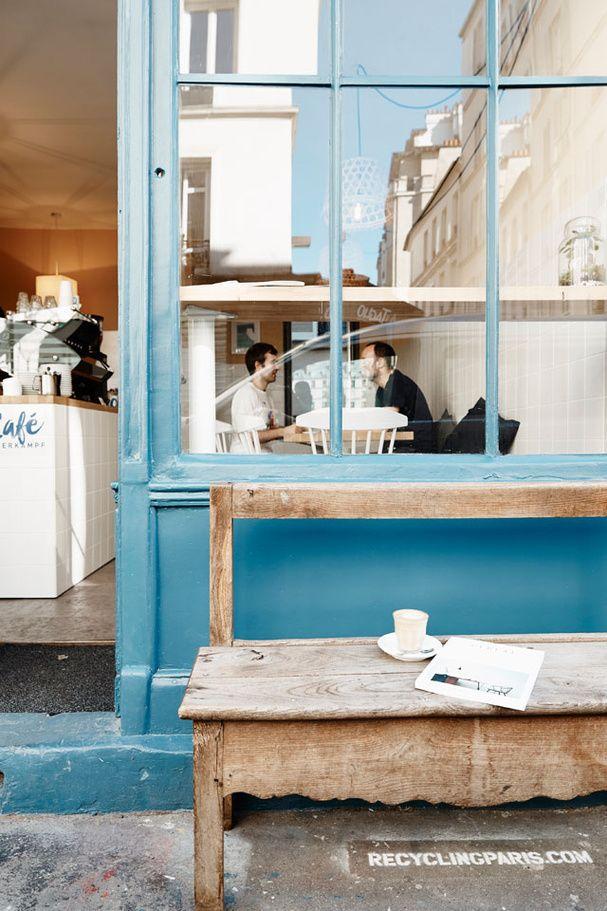 Un coffee shop cosy : Café Oberkampf