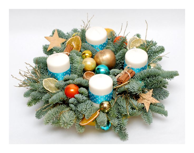Christmas in turqoise