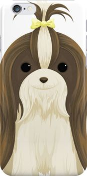 Shih Tzu iPhone Cases & Skins by AnMGoug on Redbubble. #dog #iPhone #shihtzu