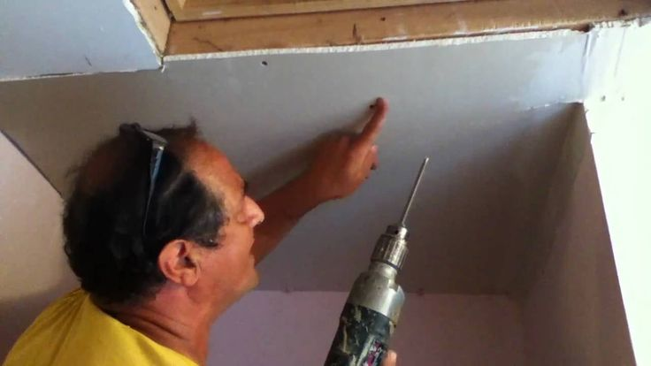 how to repair drywall ceiling water damaged drywall 1 on dry wall id=95451