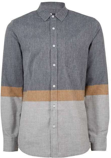 Stone Bold Stripe Casual Shirt