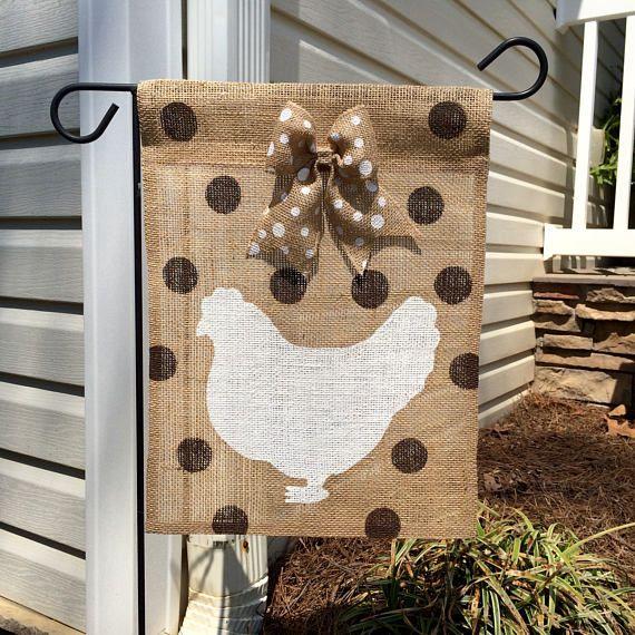 Pavillon de jardin de toile de jute de poulet