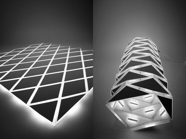 N Matic Is Light Object Designed By Inga Mrazauskaite, Using LED  Technologies And Unique Transformable Constructions.