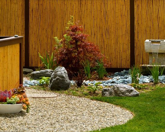 Best 25 Bamboo Garden Fences Ideas On Pinterest House