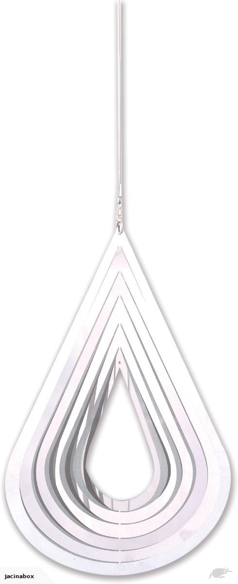 Stainless Steel Tear Drop Garden Spinner Spirit of Air | Trade Me