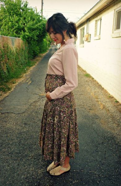 Pregnant Street Style: 35 Cool Maternity Outfit Ideas | StyleCaster