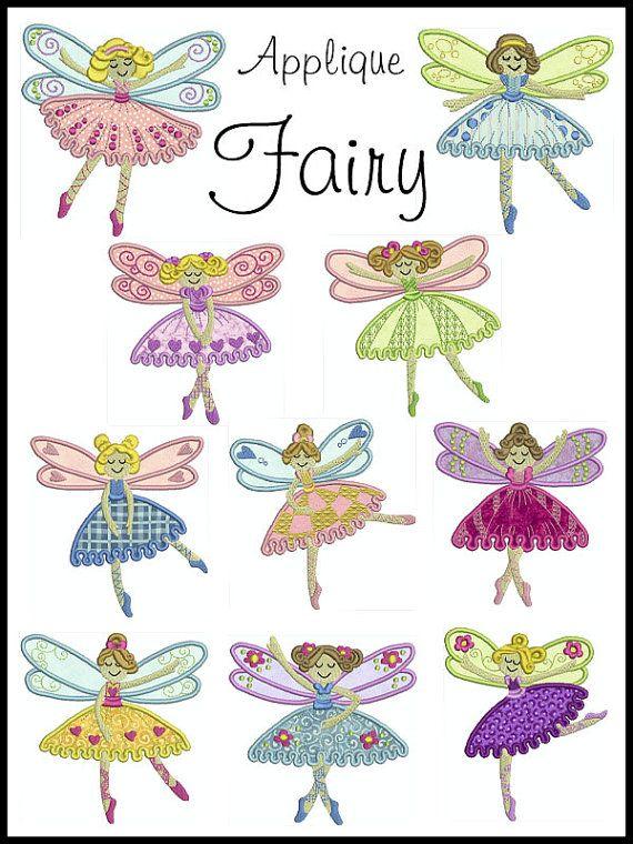 Best images about applique fairies on pinterest