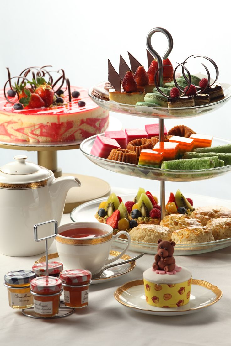 English afternoon tea. www.teacampaign.ca  Source: see below.