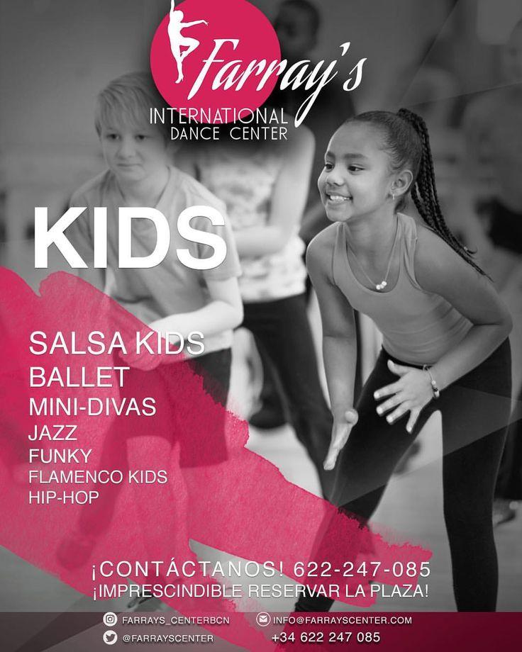 """3 Me gusta, 1 comentarios - Farray's Center (@farrays_centerbcn) en Instagram: """"#kids #salsakids #YunaisyFarray #FarraysCenter #dance #barcelona #heels #salsa #streetdance…"""""""