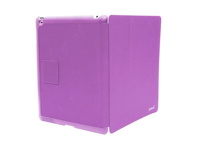 Introducing the Evoke from Sprout. This cover combines a sleek fabric covered design to protect and a built in stand to display your iPad2/iPad3/iPad4 in a unique way. #case #cover #ipad #apple #purple #sprout #sproutaus #freedomtogrow