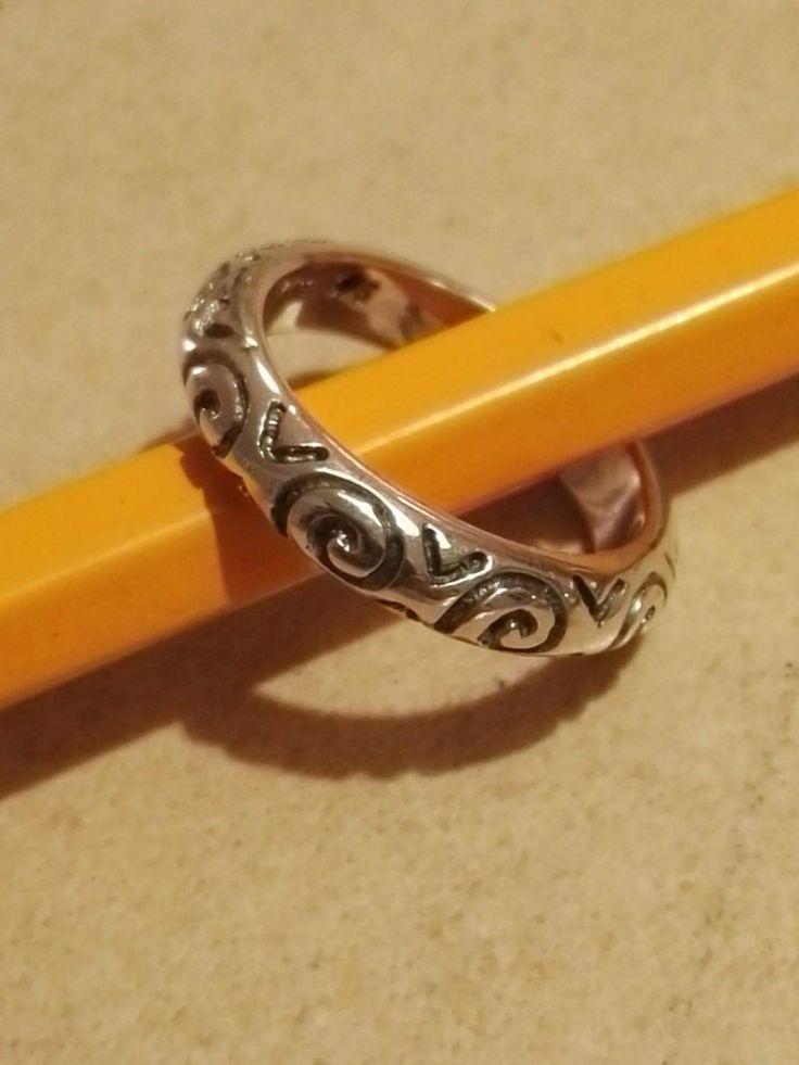 Vikinge ring ornamentik  Sølv  190 kr