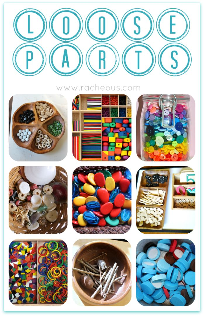 Loose Parts | Day 25 - 30DaysTYP - Racheous - Lovable Learning
