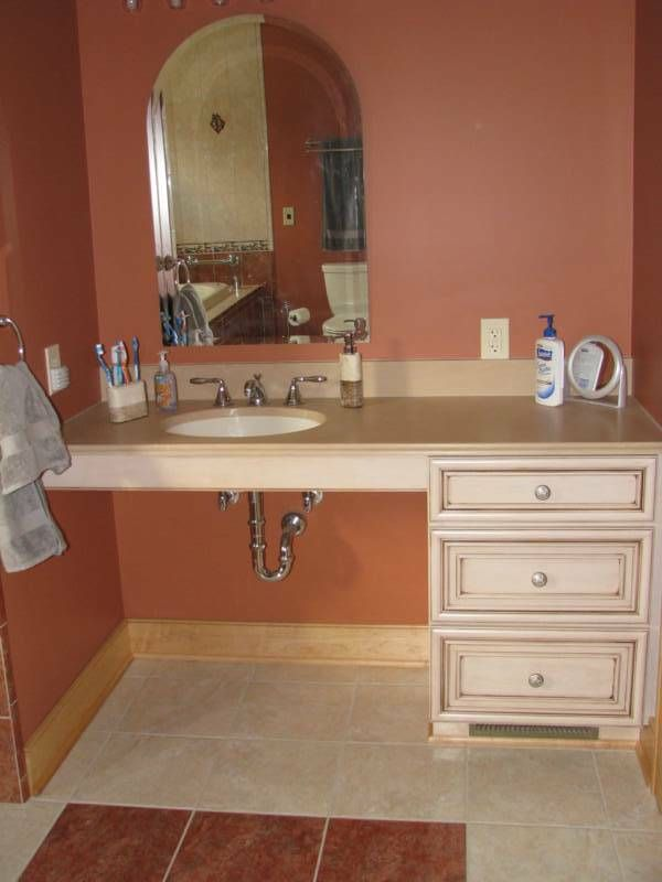 Handicapped Accesable Home Renovations Wheelchair Accessible Bath Remodeling Ideas