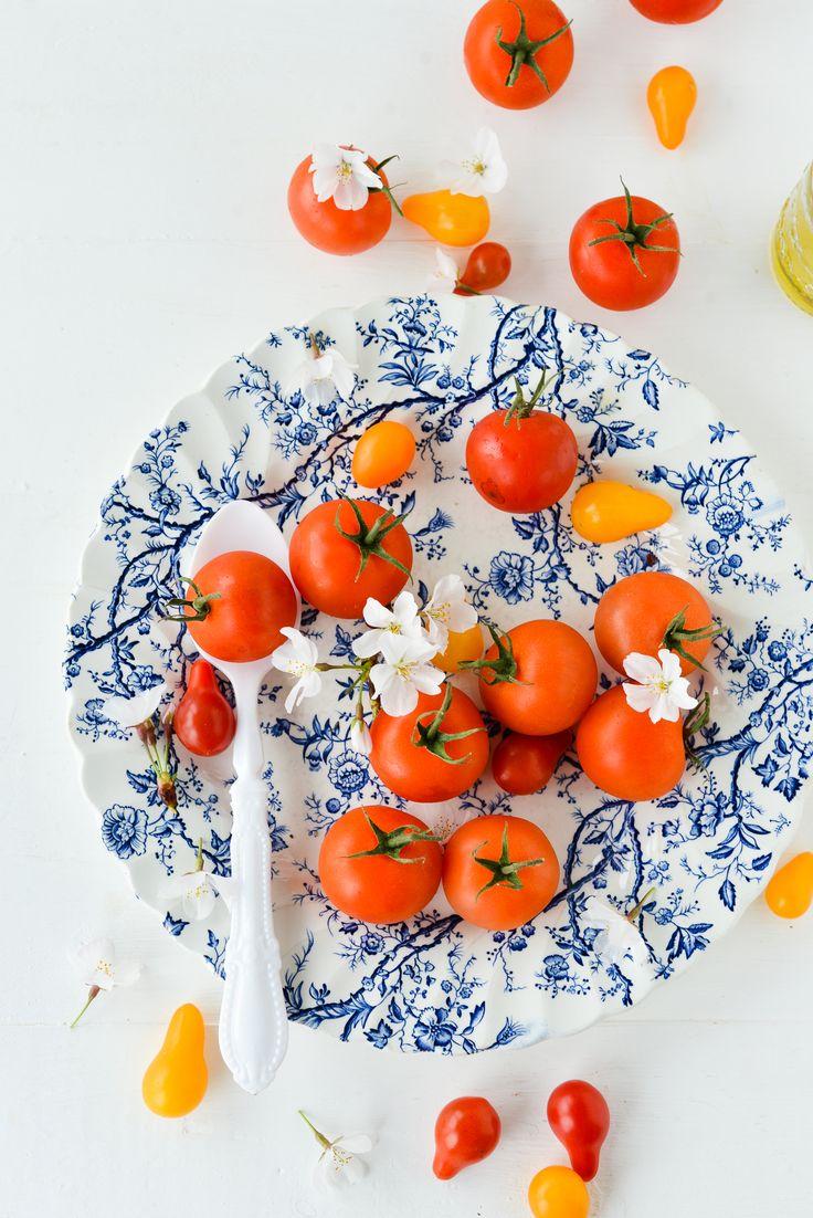 food photography #heirloom baby tomatoes #inspiration | Au Petit Goût