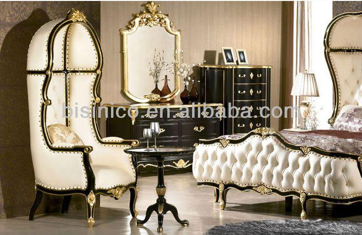 European bedroom furniture,luxury classical bedroom set,wooden bed(BF02-50619)