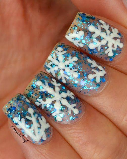 Snowflake Nail Art: 17 Best Ideas About Snowflake Nail Art On Pinterest