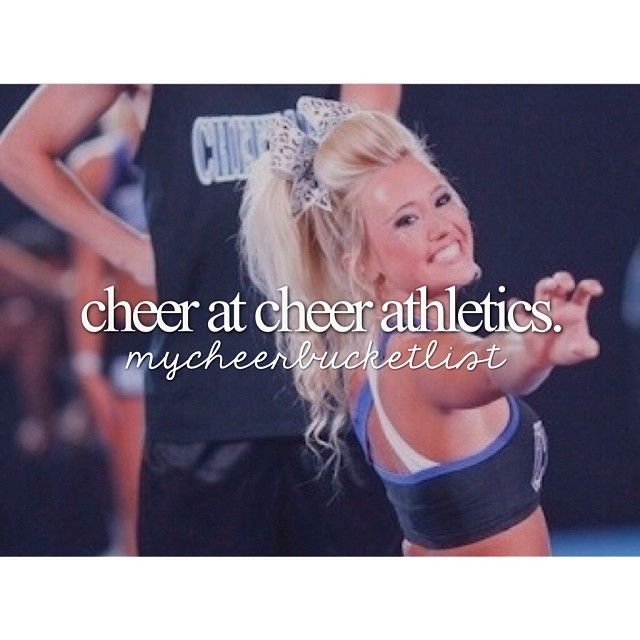 Photos by mycheerbucketlist on Instagram.         This is so true I can only dream on being ion cheer athletics