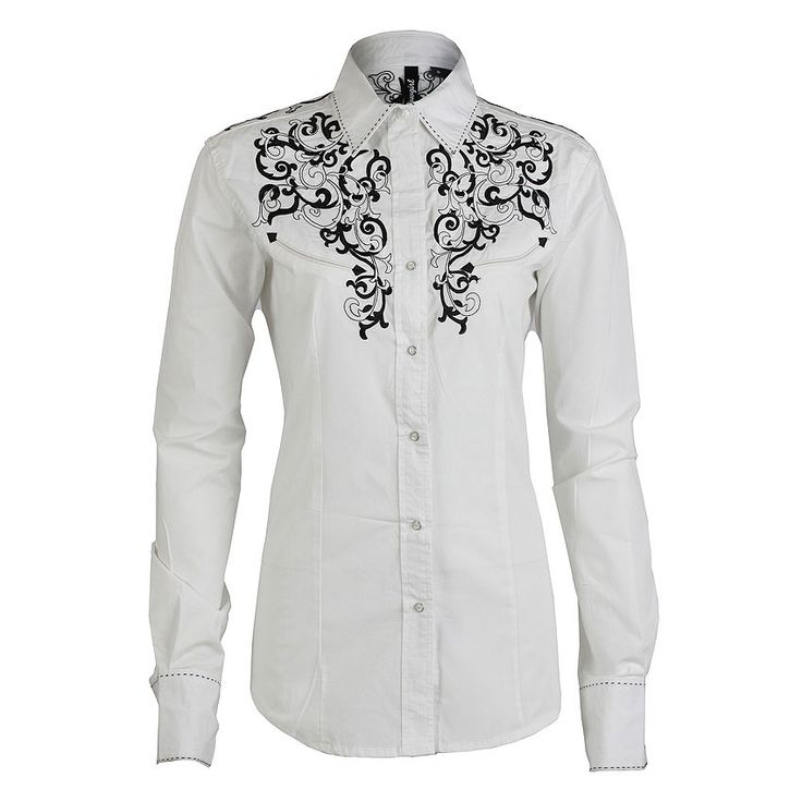 womens western shirts | RU Cowgirl Women's Embroidered Western Shirt | Clothing Style