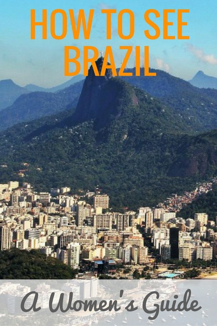 A women's guide to traveling in Brazil