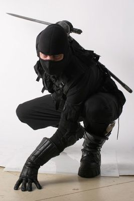 'Kinda like the modern take on the ninja... add A lil Tactical in and there and POOF!!!!!...
