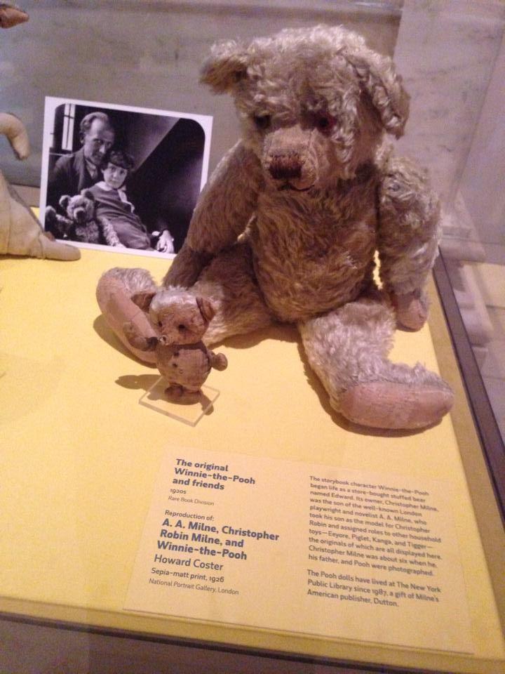 Original Winnie the Pooh and Piglet!