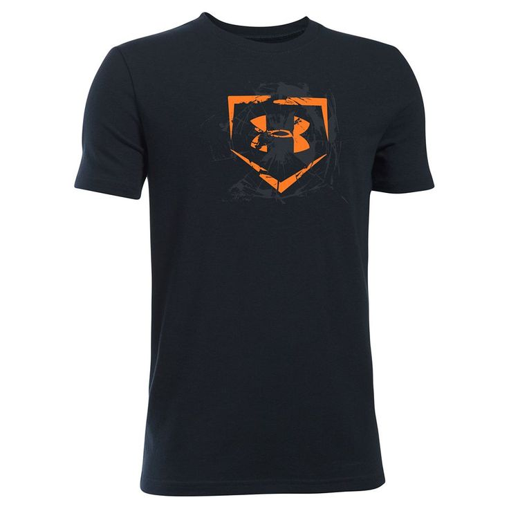 Boys 8-20 Under Armour To The Fences Tee, Size: Small, Black