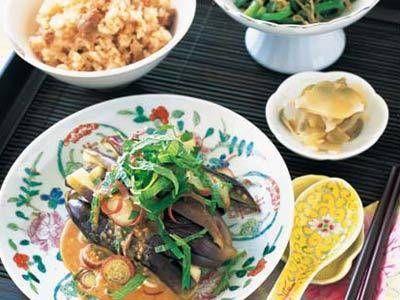 栗原 はるみ さんのなすを使った「冷やしなすのごまソース」。レンジ蒸しのなすに、ごまソースをトロリとかけて。いくらでも食べてしまいそう。 NHK「きょうの料理」で放送された料理レシピや献立が満載。