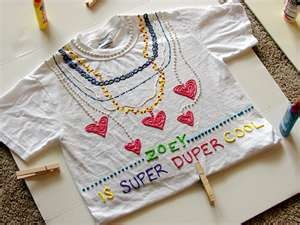 Remember doing puffy paint shirts?