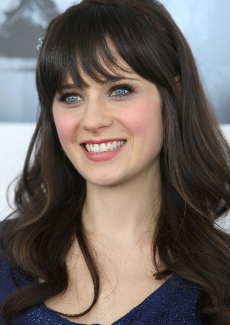 Zooey Deschanel Hair Layers 25+ best ideas about Z...