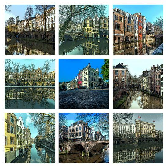 """Neun Mal der Oudegracht in Utrecht, einer der sch""""nste Kan�le der Welt! von De Utrechtse Grachten"""