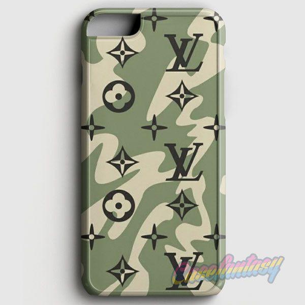Louis Vuitton Camo Pattern iPhone 6 Plus/6S Plus Case | casefantasy