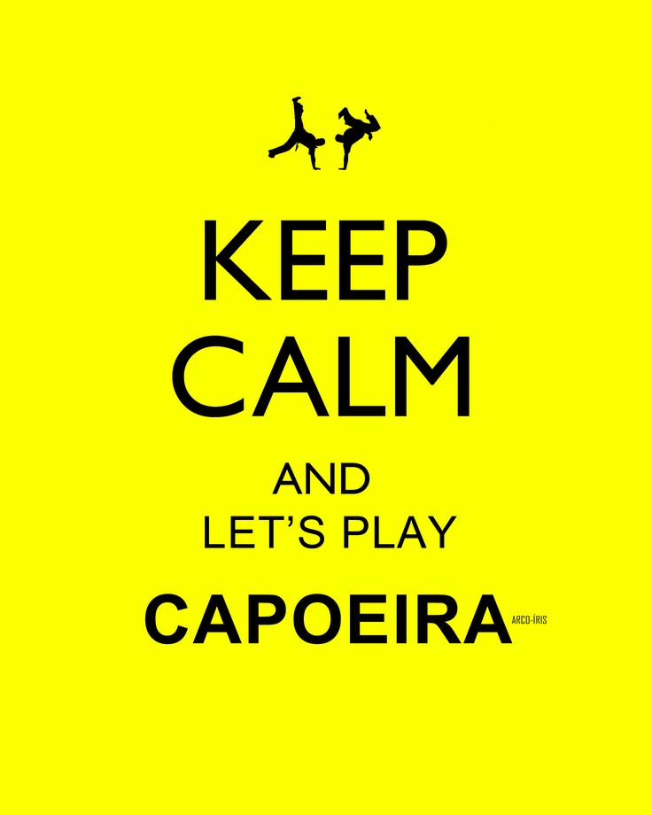 let's play capoeira