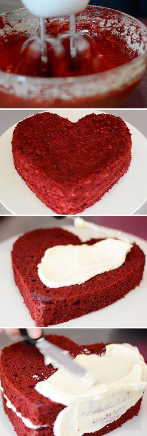 Torta Red Velvet para SAN VALENTÍN Hecho con Amor. Recetas románticas¨ #sanvalentin #valentinesday #valentine #love #azúcar #tips #cupcakes #cakes #dulces #receta #recipe #casero #torta #tartas #pastel #nestlecocina #bizcocho #bizcochuelo #tasty #cocina #chocolate #pan #panes Si te gusta dinos HOLA y dale a Me Gusta MIREN …