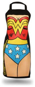 Wonder Woman Apron - eclectic - aprons - ThinkGeek