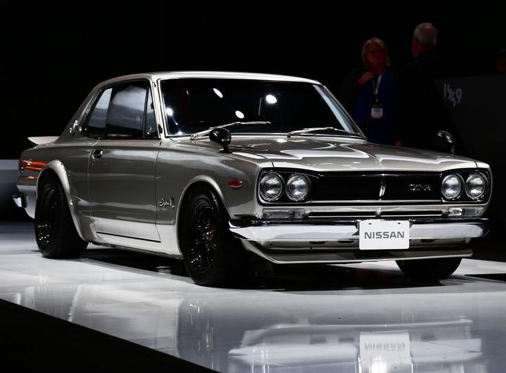 """Launched in February 1969 the """"Hakosuka"""" @Nissan Skyline 2000GT-R was the genesis of Japan's most iconic performance car. (@andrew_m_connor)  #NYIAS #nissanskyline #2000GTR #skyline by gearpatrol"""