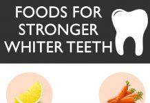THE BEST 10 FOODS TO EAT FOR STRONGER, WHITER TEETH
