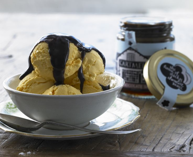 have you tried our Cartmel Sticky Toffee or Sticky Chocolate sauces on your ice-cream?? No?? then why not? it's delicious!