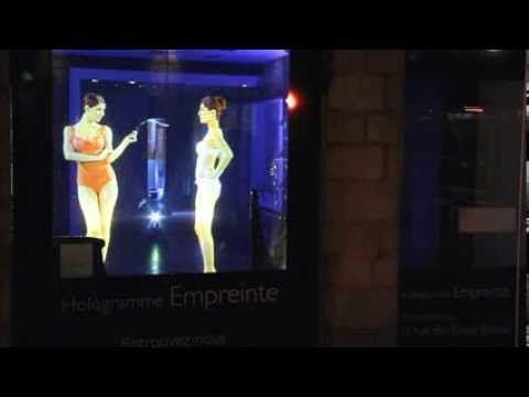▶ HOLOGRAMME EMPREINTE LINGERIE - YouTube