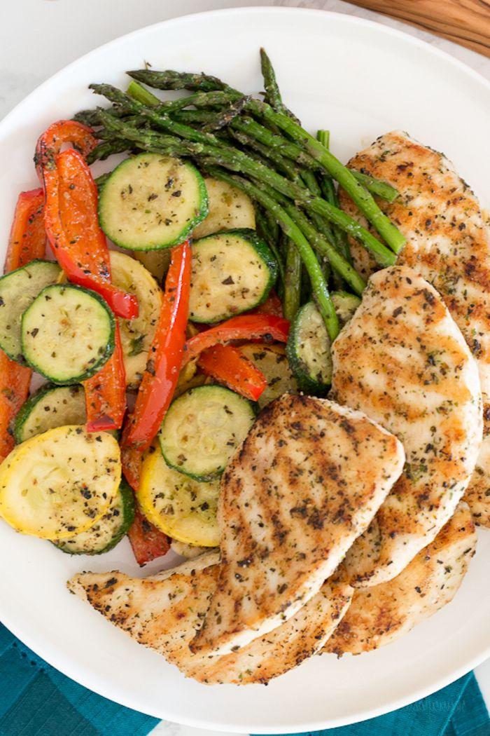 ▷ 1001 + Ideen für Rezepte mit wenig Kalorien, die satt machen