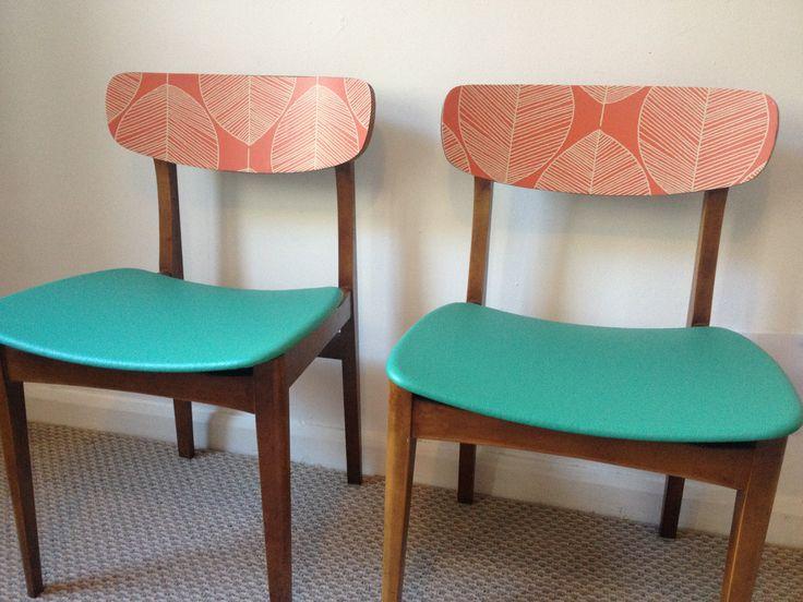 Upcycled Retro Chairs Hyretro