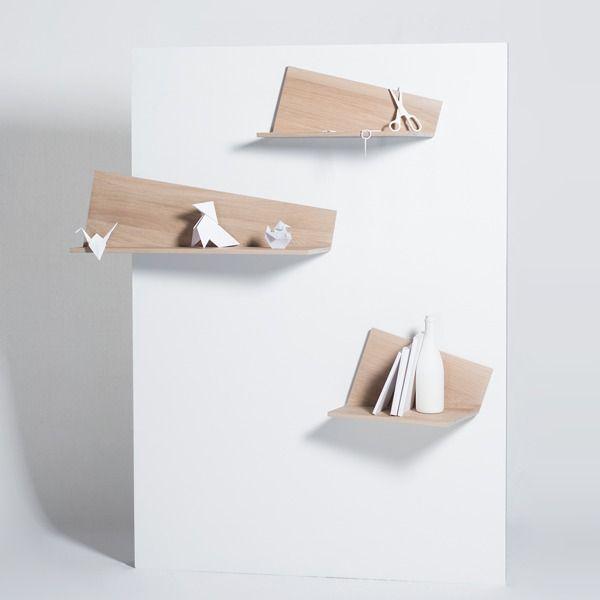 Etagere Pliage - design Hervé Langlais pour Drugeot Labo