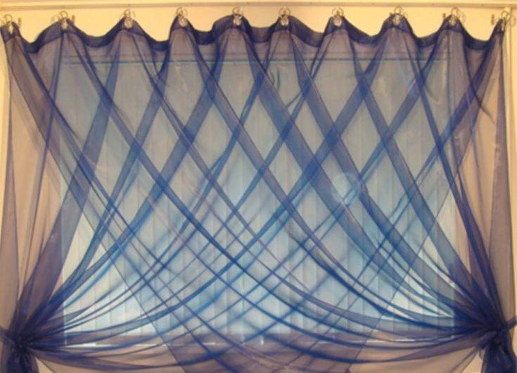 Как повесить шторы без карниза7