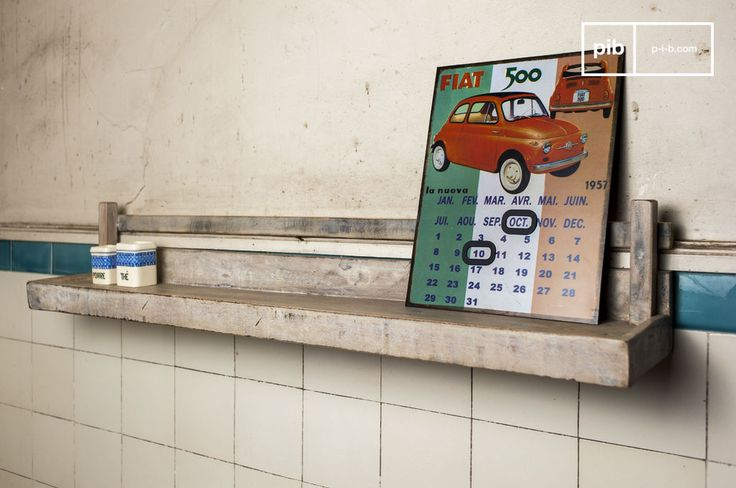 Mensola a Muro Epicure e molti altri scaffali da scoprire su PIB, lo specialista in arredamenti, illuminazioni e decorazioni vintage.