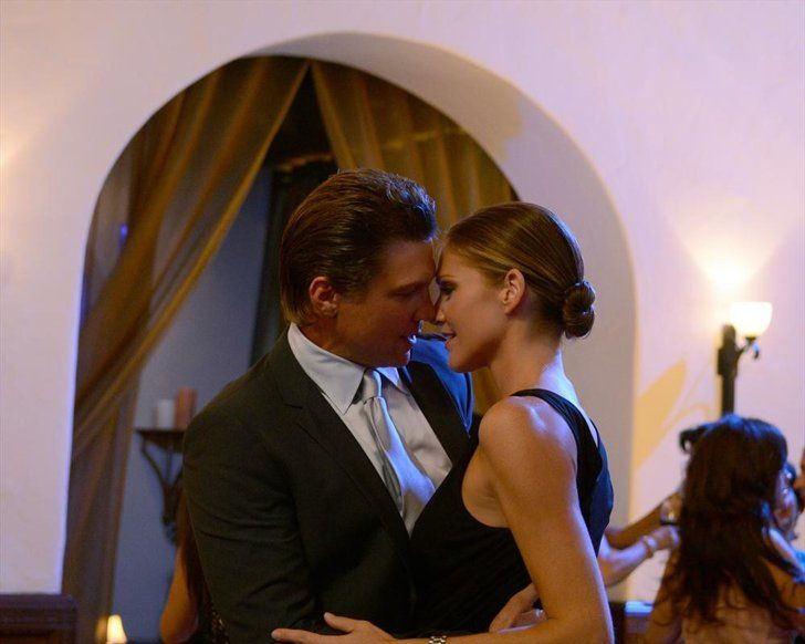 Pin for Later: The Sexiest TV Moments of 2014 Killer Women Dan (Marc Blucas) and Molly (Tricia Helfer) get steamy on the now-canceled drama.