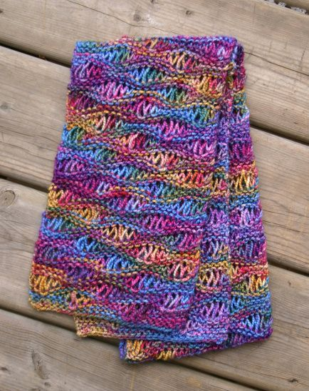Drop Stitch Knitting- project for the future!