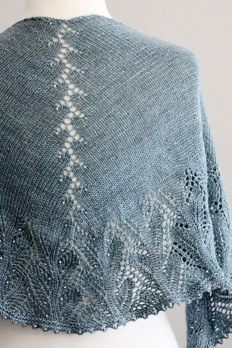 Ravelry: Tanis Shawl pattern by Rosemary (Romi) Hill