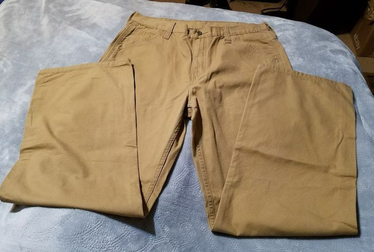 Men's Faded Glory Pants Sz 34x32, NWOT, Tan, Men's Jeans, Men's Pants #FadedGlory #pants